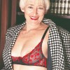 Blonde Granny Office MILF Theresa